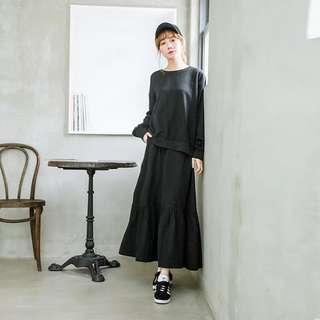 長身裙 黑色