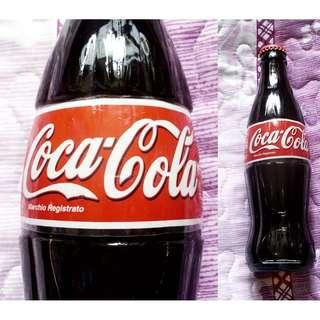 可口可樂96年意大利330毫升玻璃樽