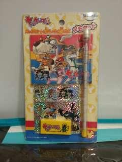 "BNIP! Rare Popular Japan Anime ""Yatterman"" Stationery Set"