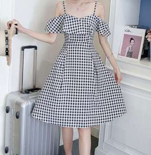 Preorder Checkered Dress