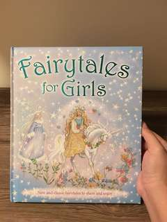Fairytales for Girls Hardbound Book