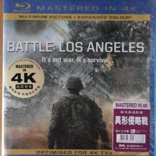 原裝正版@全新備中文字幕  [MASTERED IN 4K blu-ray 高清藍光碟]  \\BATTLE: LOS ANGELES 異形侵略戰//