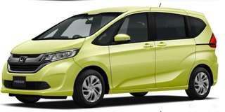 Honda freed hybrid brand new..!
