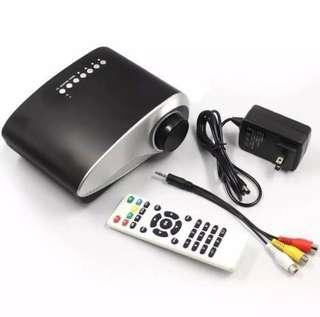 Mini 1080P HD LED Portable Projector w/ Remote