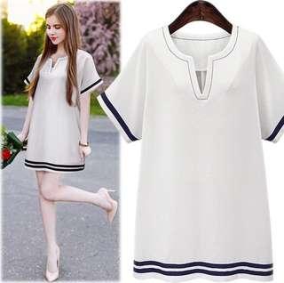 Plain Lining Dress