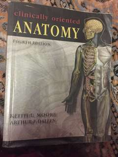Moore's Clinically Oriented Anatomy, 4th ed