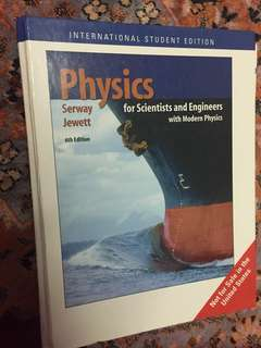 Physics by Serwey Jewett, 6th ed