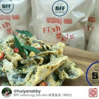 BFF salted Egg Fish Skin 咸蛋鱼皮