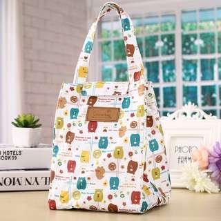 Tas Bekal Anak korean Lunch Bag Cooler Bag 131 Tas Piknik