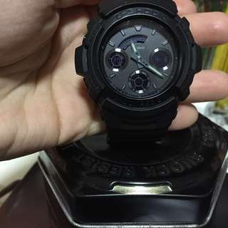 Casio G-Shock Blackout Series Watch PENDING