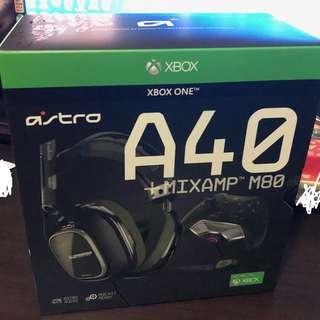 全新未拆封A40 TR Headset + MixAmp™ M80 Gen3