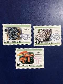 朝鮮1999 蘑菇3全新 郵票