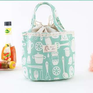 NEW Lunch Bag Tas Bekal Penahan Panas Lunch Bag Tote Cooler Bag