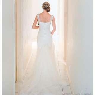 Wedding Dress by Karen Willis Holmes - Demi Couture Bespoke Collection