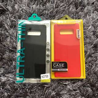 SAMSUNG GALAXY NOTE 8 SILICONE CASES