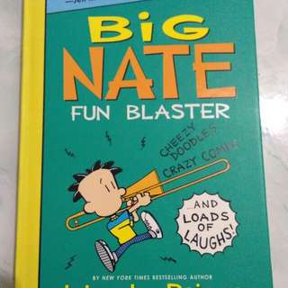 Big Nate Fun Blaster (activity book)