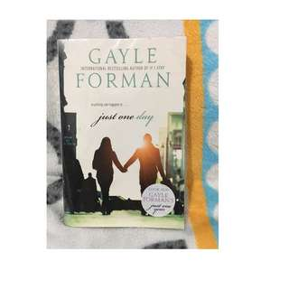Preloved novel import Just one day - Gayle Forman