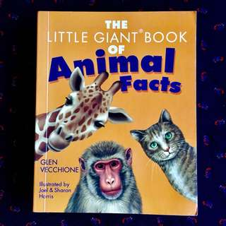 The Little Giant Book of Animals Facts