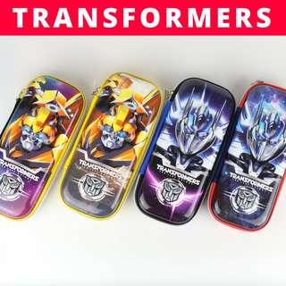 3D Pencil Case Hard Case Large Capacity - Transformers