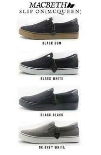 Macbeth Shoes Mc queen - Slip on