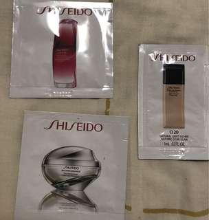 Shiseido samples