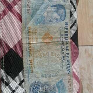 2 peso bill