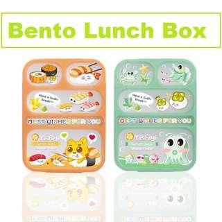 Lunch Box Bento 5 sekat / Kotak Makan Anak / Bento yooyee Anti Tumpah