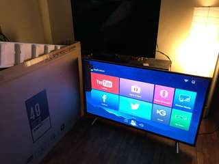 TCL smart tv 49 inches