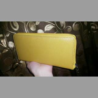 Wallet Pouch Yellow