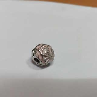 Pandora Rose charm 100%real