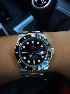Rolex Submariner 116613LN Half Gold
