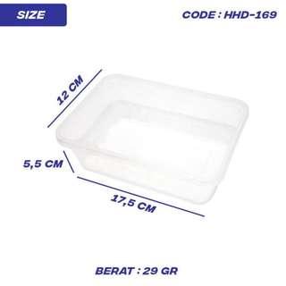 PROMO THINWALL PONG BOX / BOX MAKANAN 750ML (HHD-169)