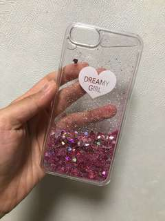 iPhone Case7/8 dreamy girl pink speckle