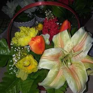 Artificial bunga variasi