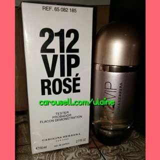 Authentic 212 VIP Rose by Carolina Herrera (US Tester)