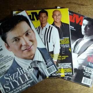Metro Him Magazines | Php 100 each