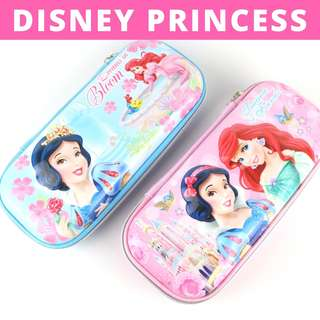 3D Pencil Case Hard Case Large Capacity - Disney Princess