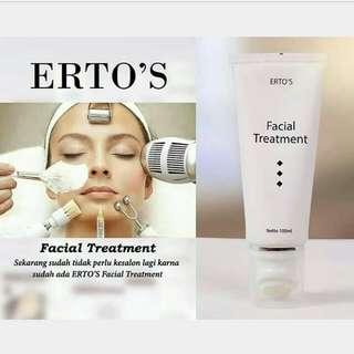 ERTOS FACIAL TREATMENT / ERTO'S FACIAL TREATMENT ORIGINAL BPOM