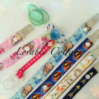 Pacifier Clip / toy holder strap