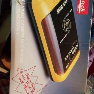 AT Audio Tech Slim type Video Cassette Tape winder