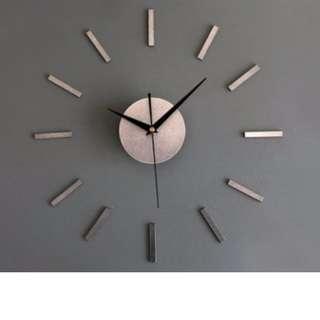 mirror effect wall clock