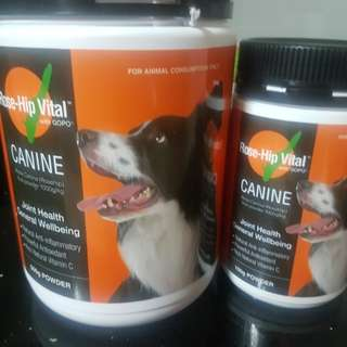 Rose Hip Vital Dog Supplement for Joints