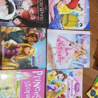 Princess stories books