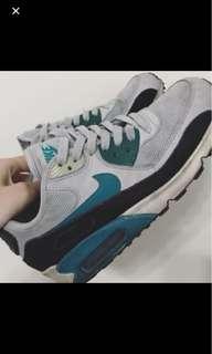 🚚 Nike air max灰綠24號