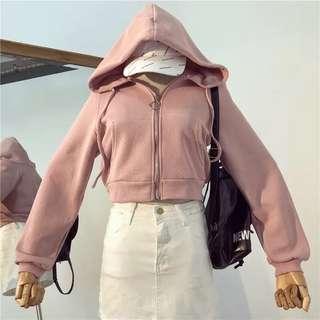粉色運動外套