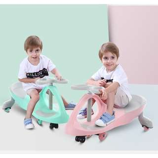 Swivel Car - Baby Kids Riding Ride-on Car Twisting Toy