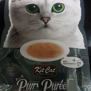 Kitcat treats Purr Puree+