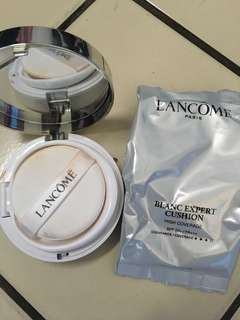 JUAL RUGI Lancome Blanc Expert Cushion High Coverage with Spf 50+