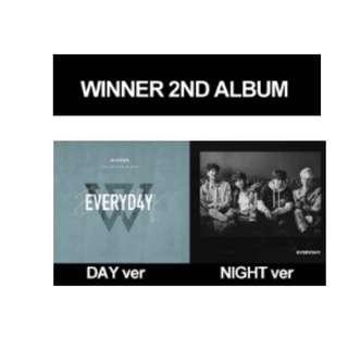 [INC EMS] WINNER 2ND ALBUM - EVERYD4Y