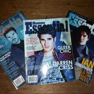 Homme Essential Back issues | Php 100 each